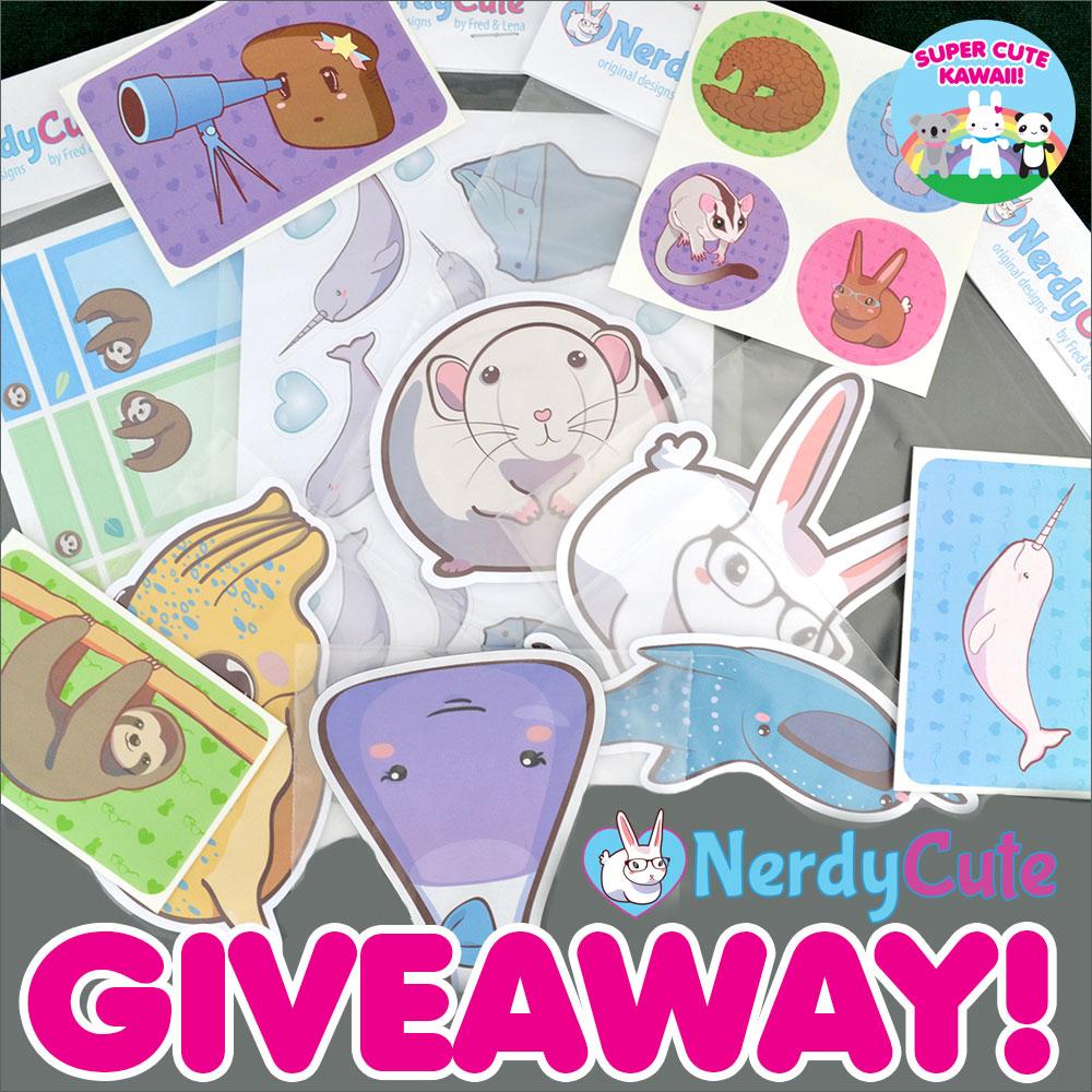 nerdycute giveaway
