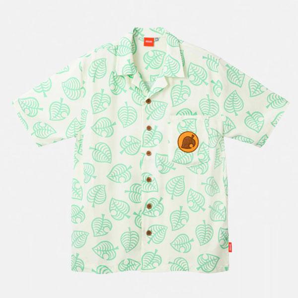 Animal Crossing Tom Nook aloha shirt