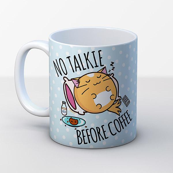 Fuzzballs kawaii mug