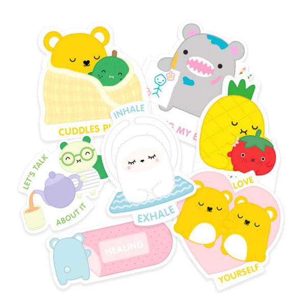 noodoll kawaii self care stickers
