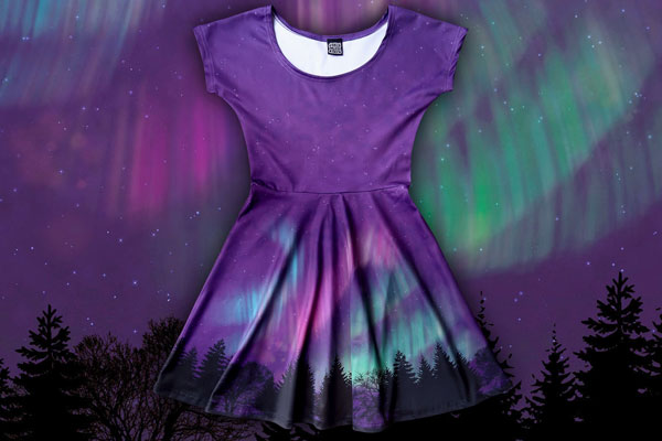 Nothern Lights dress