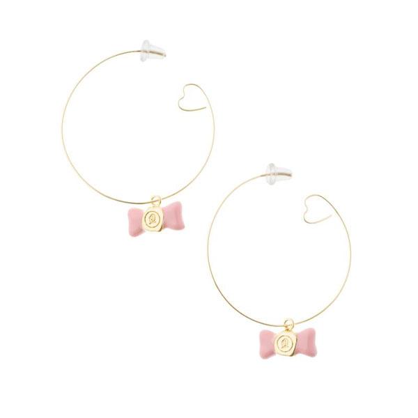 kawaii hoop earrings