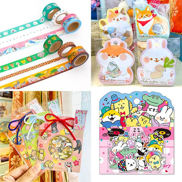 Kawaii Japanese stationery shops