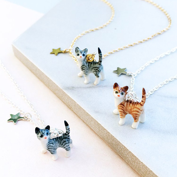 kawaii cat necklaces