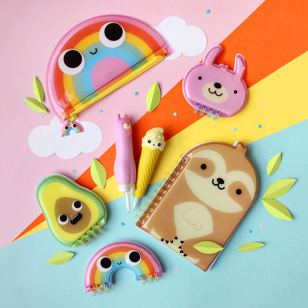 Squishy Friends Kawaii Stationery