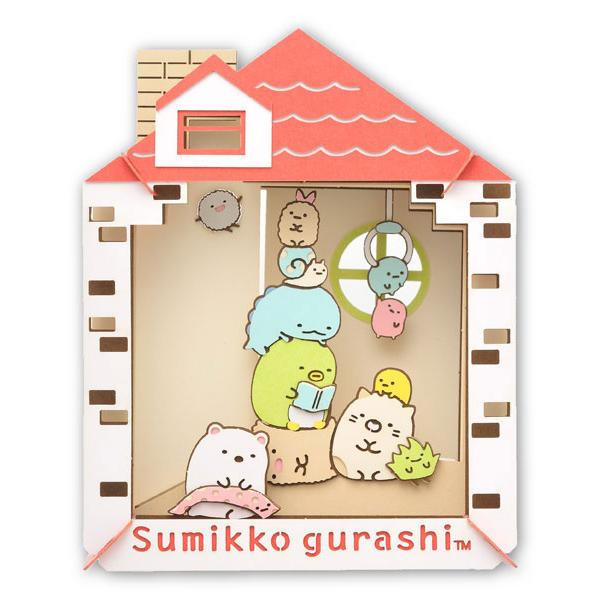 Kawaii Papercraft Matchbox Diorama - sumikko gurashi