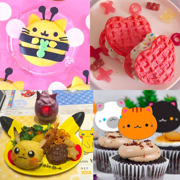 kawaii birthday cakes
