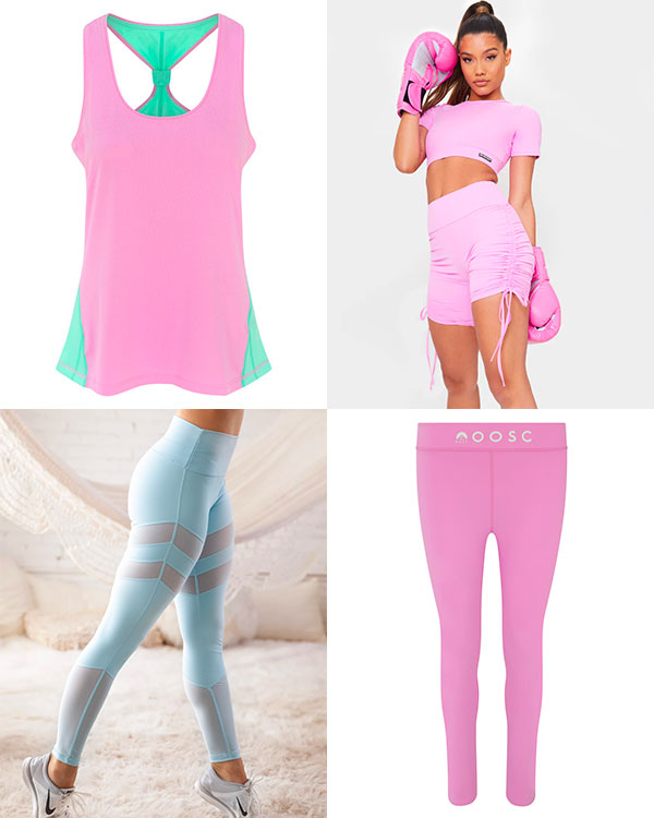 Pastel Workout Clothing