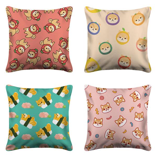 kawaii dog pillows