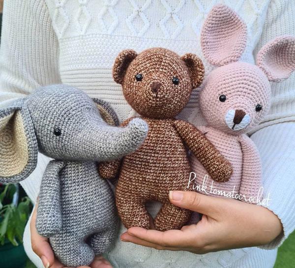 Cute Crochet Artists - pinktomatocrochet
