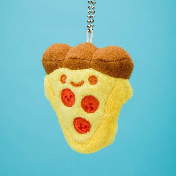 kawaii food plush pizza