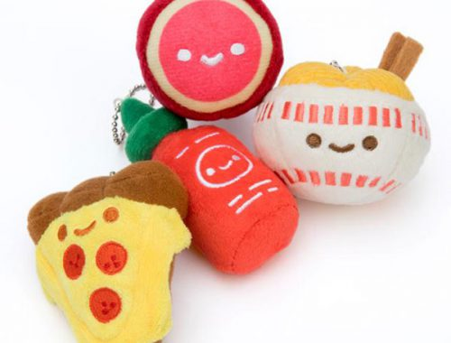 kawaii food plush