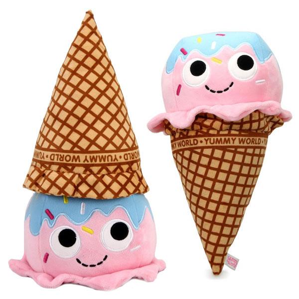 kawaii ice cream plush