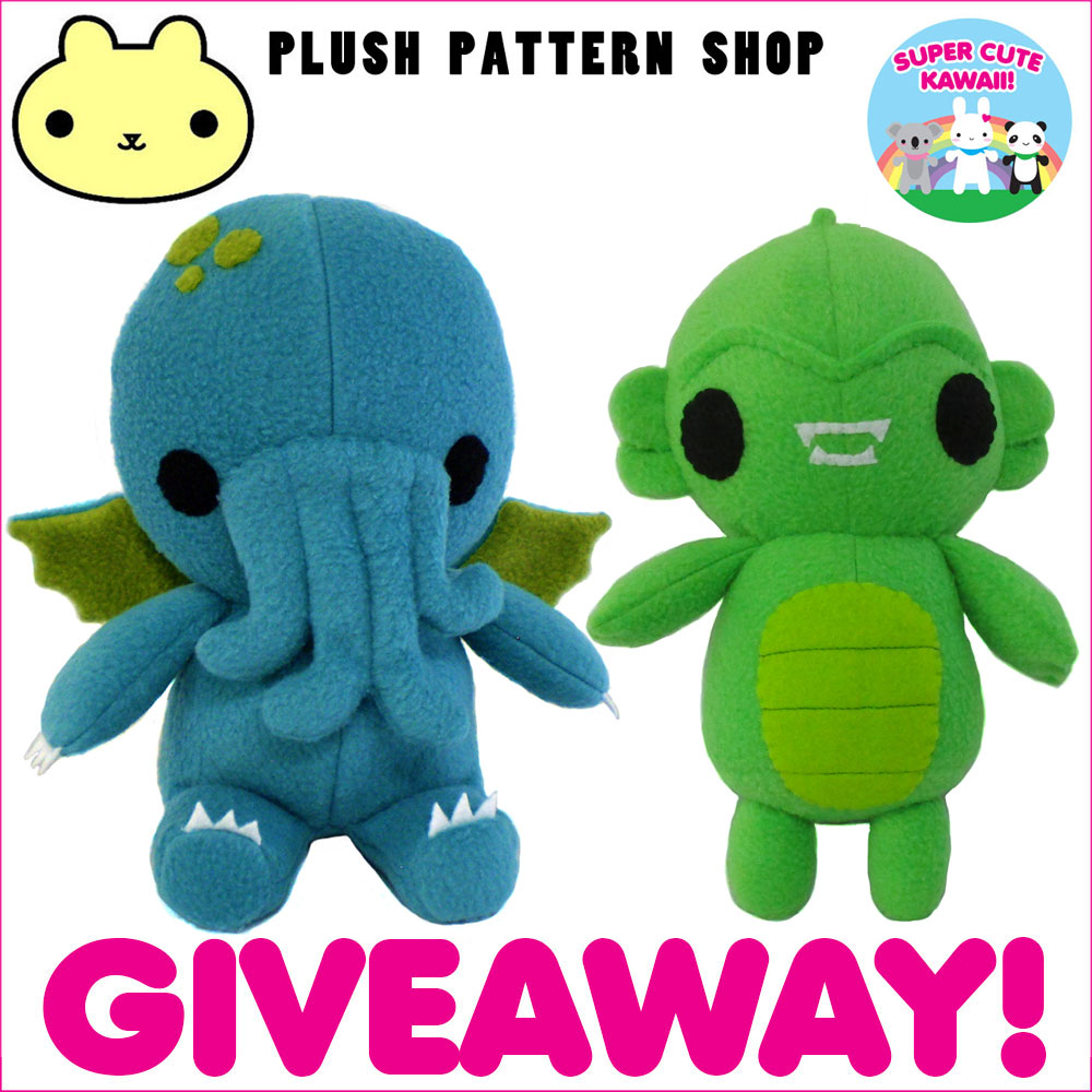 plush pattern shop giveaway