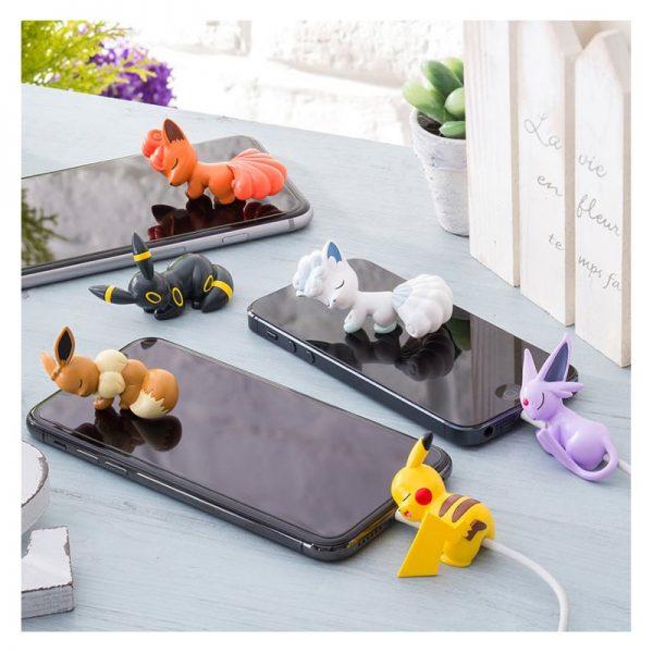 kawaii pokemon cable holders