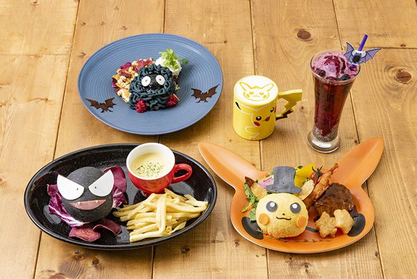Pokemon Character Cafes in Japan