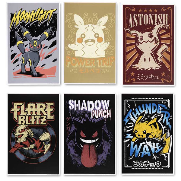 Pokemon Center posters