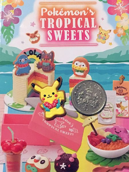 Pokemon Tropical Sweets Rement miniatures