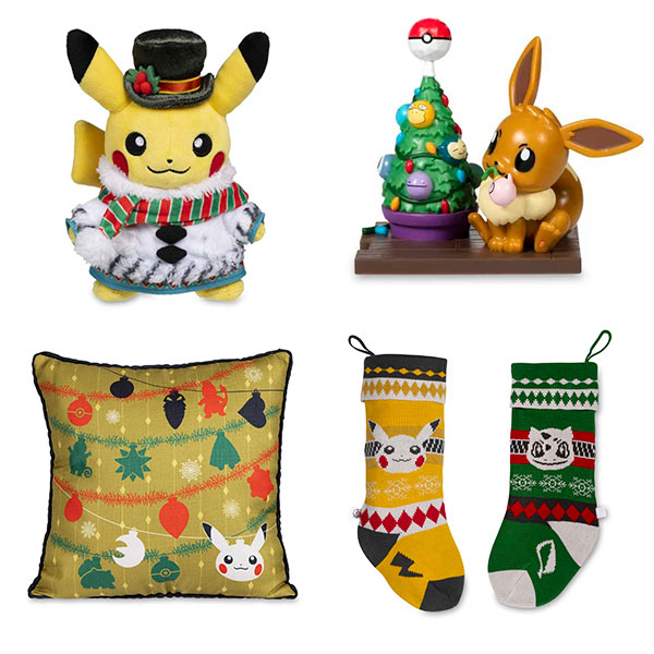 Kawaii Christmas Pokemon Center