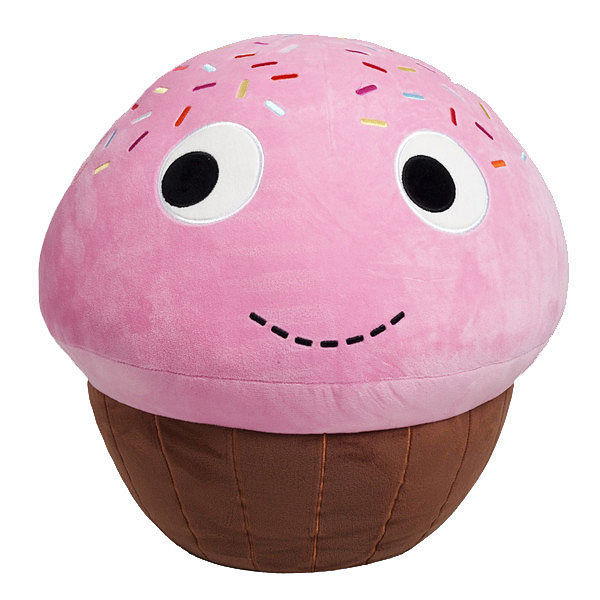 Yummy World XL Sprinkles Cupcake Plush