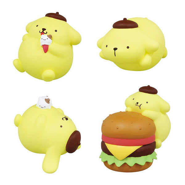 pompompurin gachapon toys