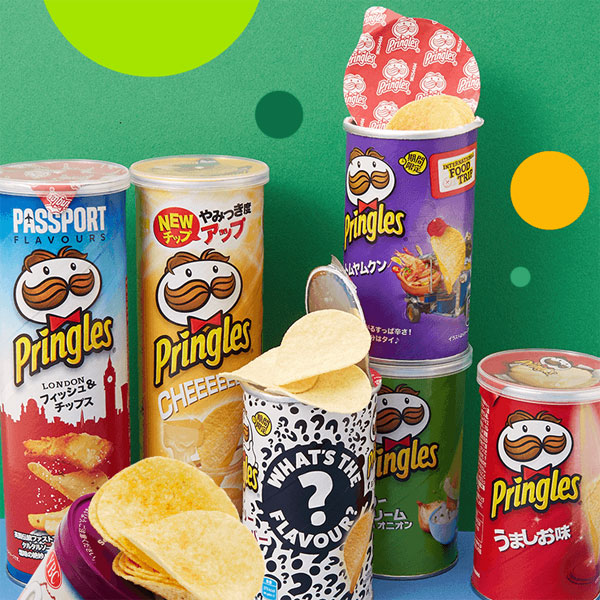 Japanese snacks - Pringles