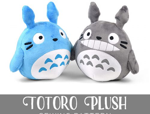 choly knight totoro plush pattern
