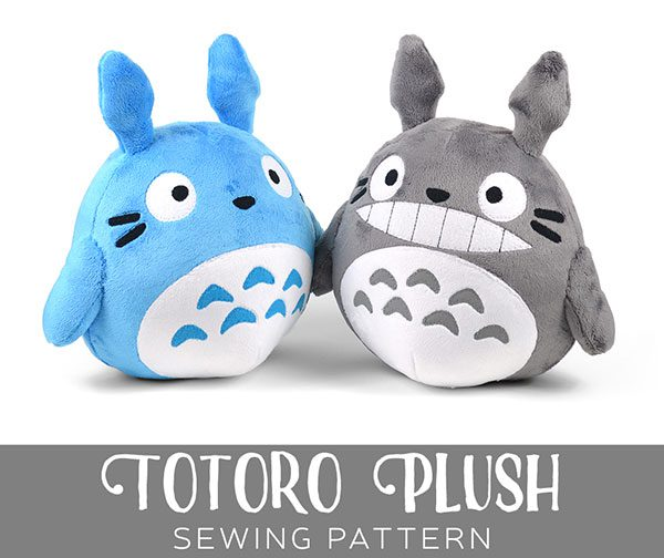 Free Totoro & Pokemon Plush Patterns - Super Cute Kawaii!!
