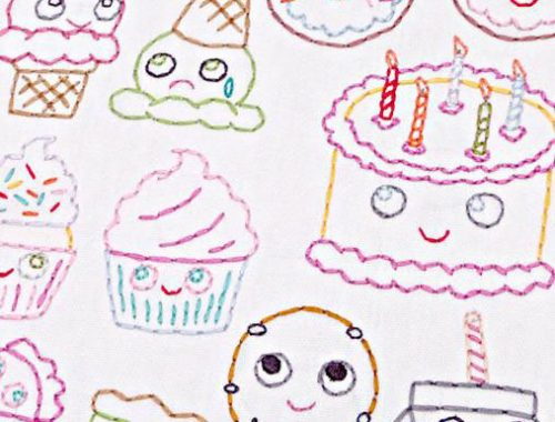 kawaii embroidery patterns