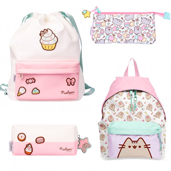 pusheen bags and pouches
