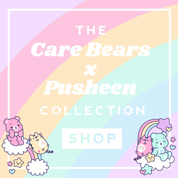 Care Bears x Pusheen collection