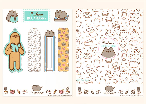 Pusheen Free Printables & Downloads