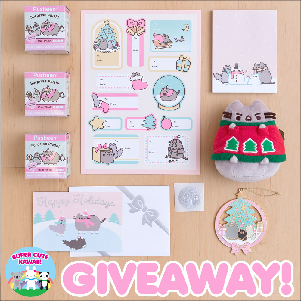 christmas pusheen giveaway