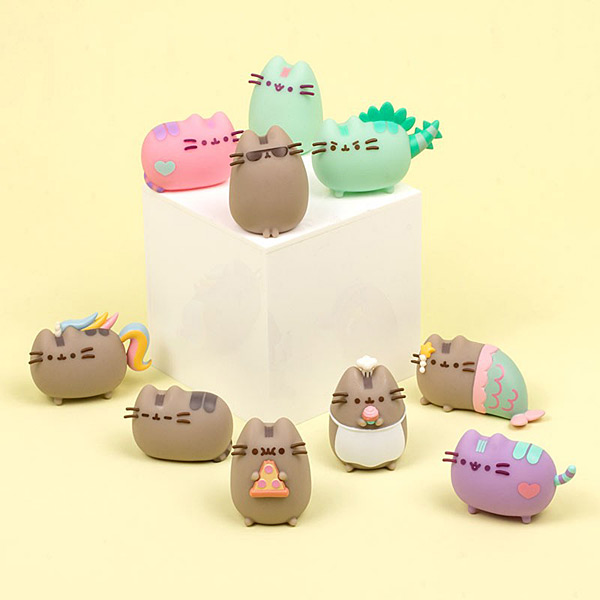 Pusheen surprise minis kawaii figurines