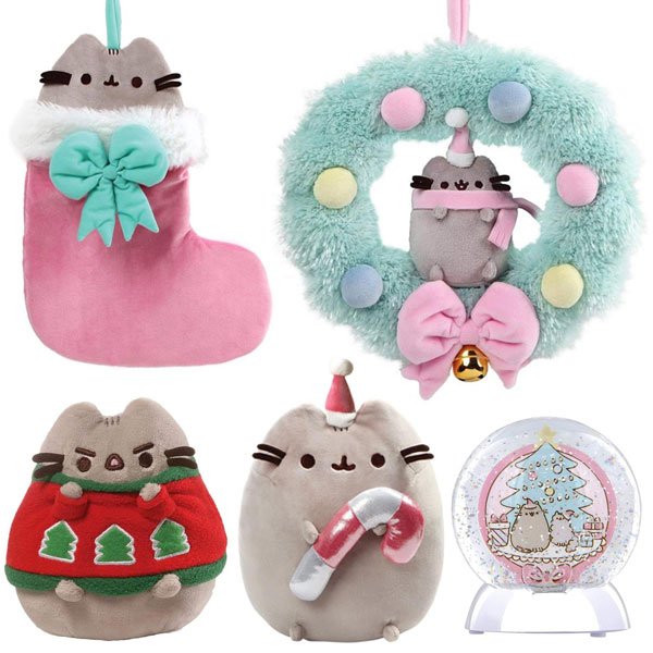 Pusheen plush Christmas