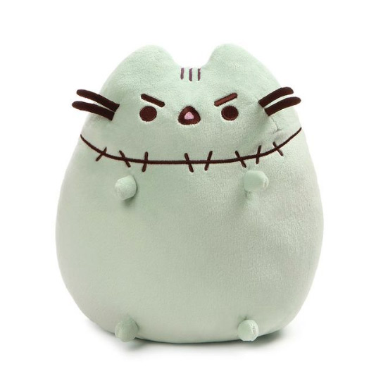 kawaii plush Pusheen zombie