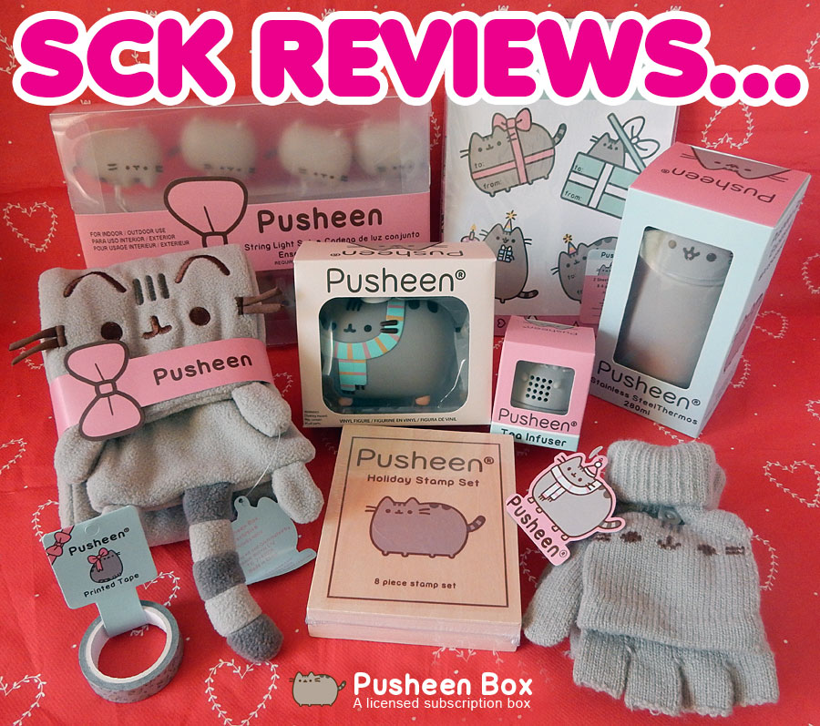 Pusheen Box review