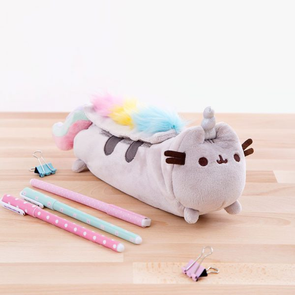 pusheenicorn kawaii pencil case