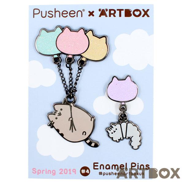 Pusheen x ARTBOX Enamel Pins