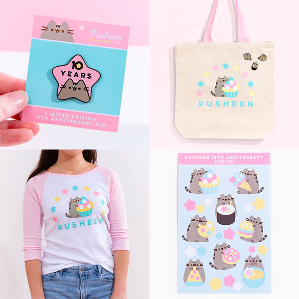 Pusheen 10th Anniversary