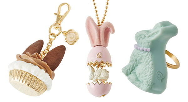 Q-pot Kawaii Easter Bunny Jewellery