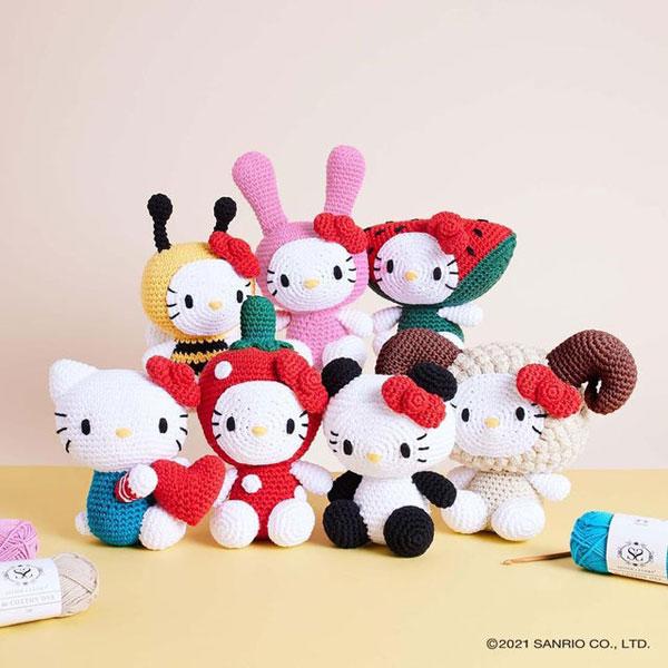 Hello Kitty amigurumi crochet patterns