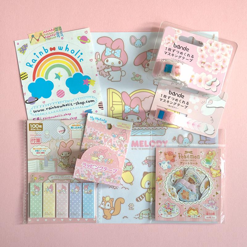 Japanese Stationery from Rainbowholic Shop