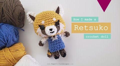 aggretsuko DIYS - crochet doll