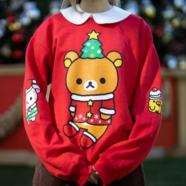 Rilakkuma kawaii christmas sweater