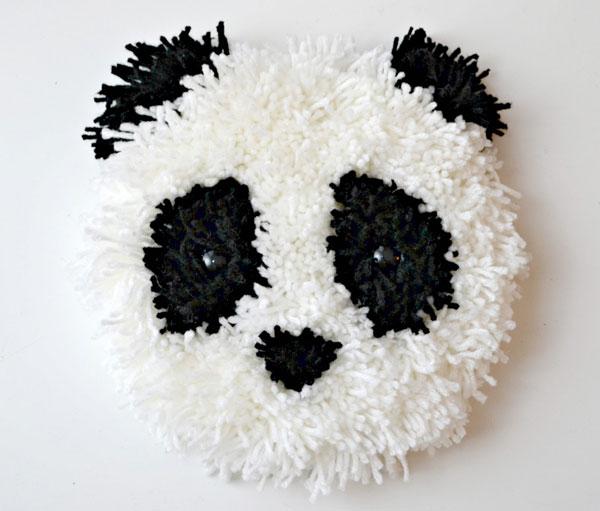 kawaii Panda DIY wall hanging