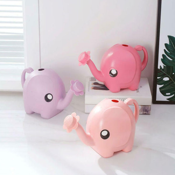 Animal Crossing elephant watering cans