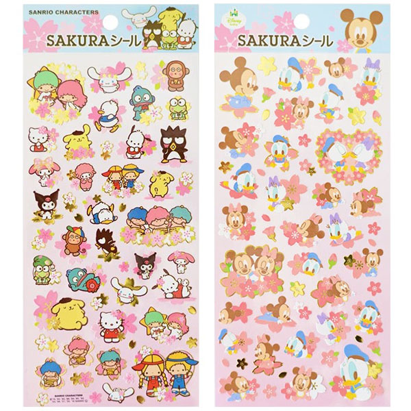 kawaii spring sakura sanrio disney stickers