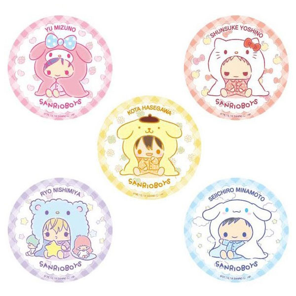 kawaii sanrio boys pocket mirror