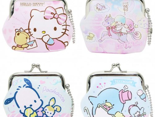 kawaii sanrio coin purses